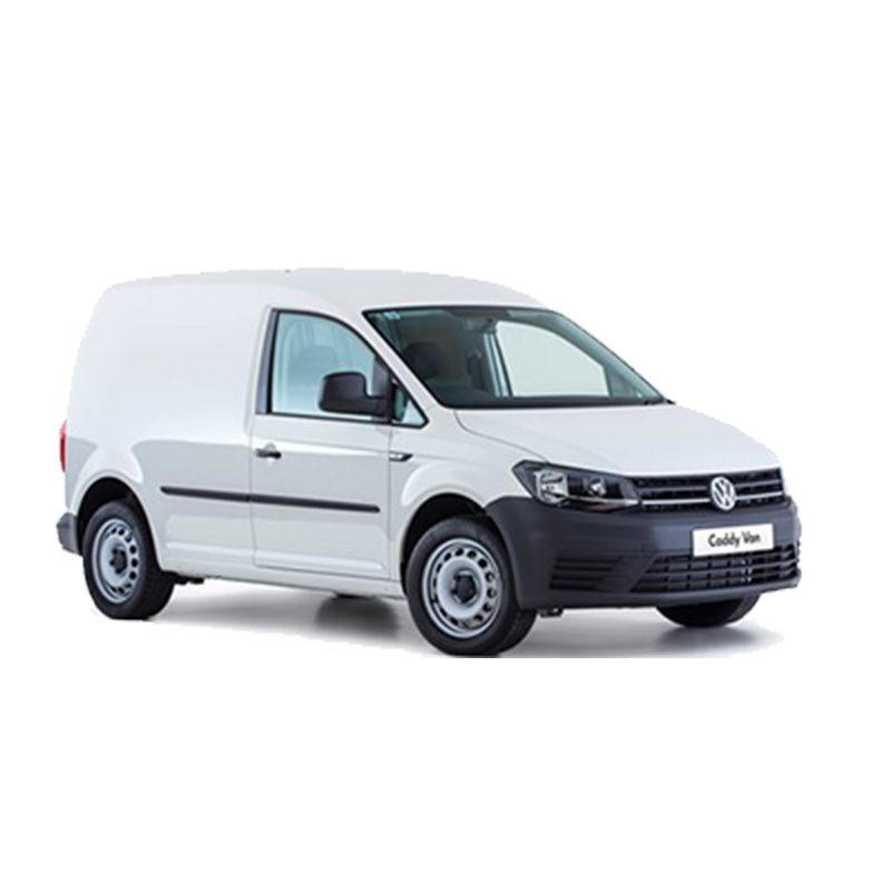 Small white fleet van