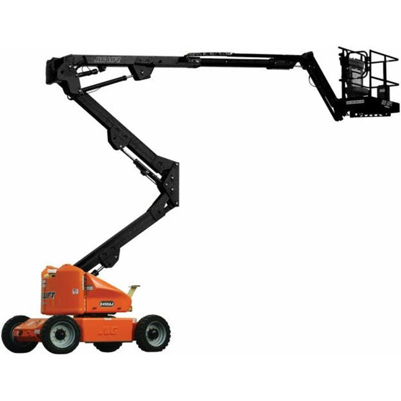 Orange and Black Cherry Picker