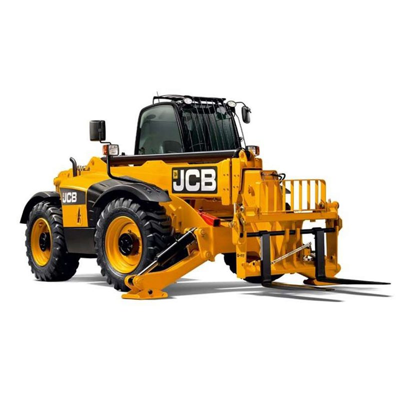 Orange and black JCB 18M telehandler