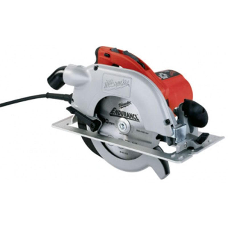 Red, Grey and Black Circular Saw