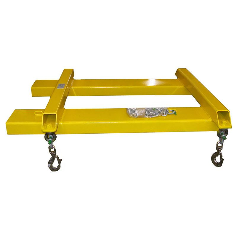 Yellow Lifting Bag Frame
