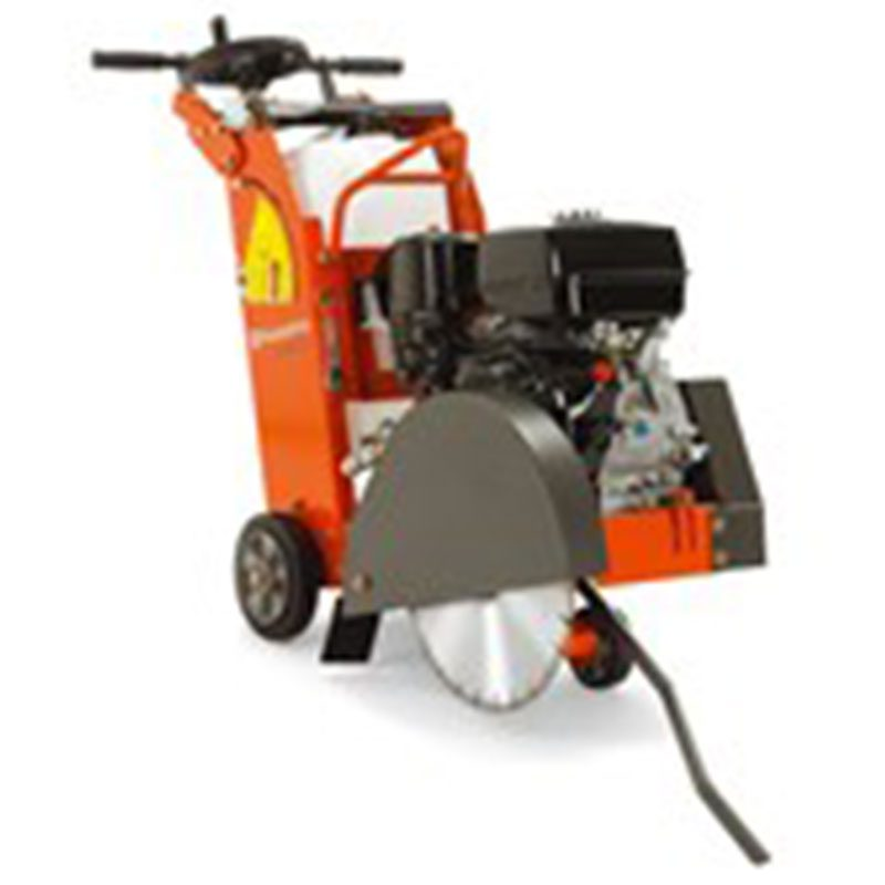 Orange and black Petrol Floor saw