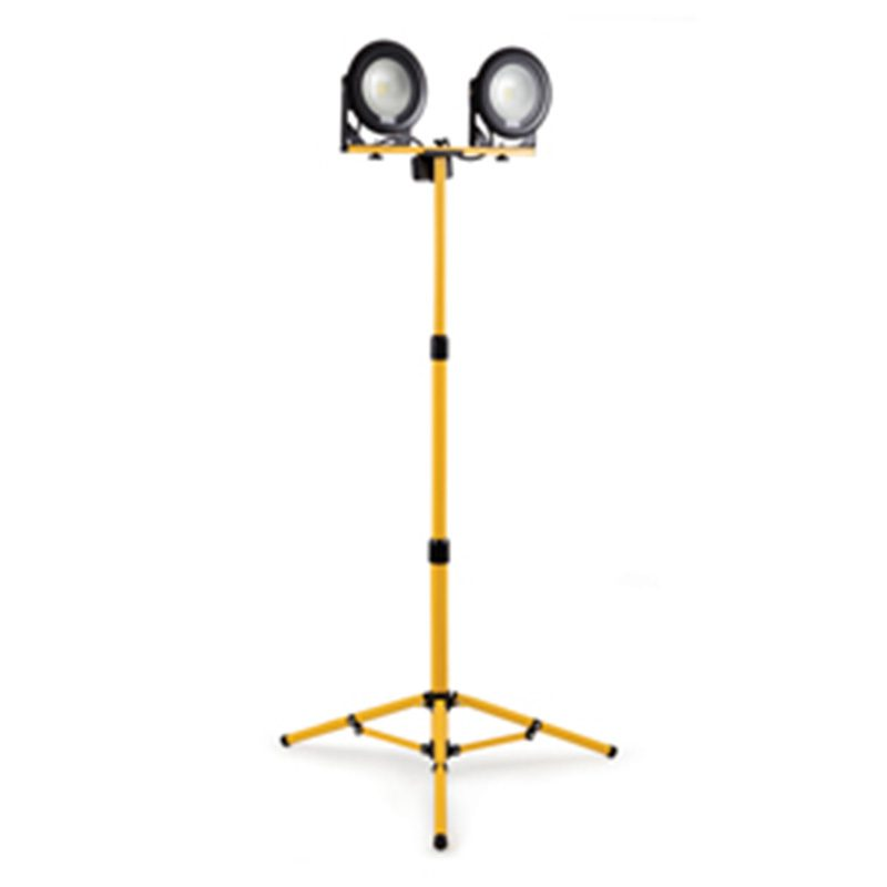 Yellow and black 110 VLights for onsite