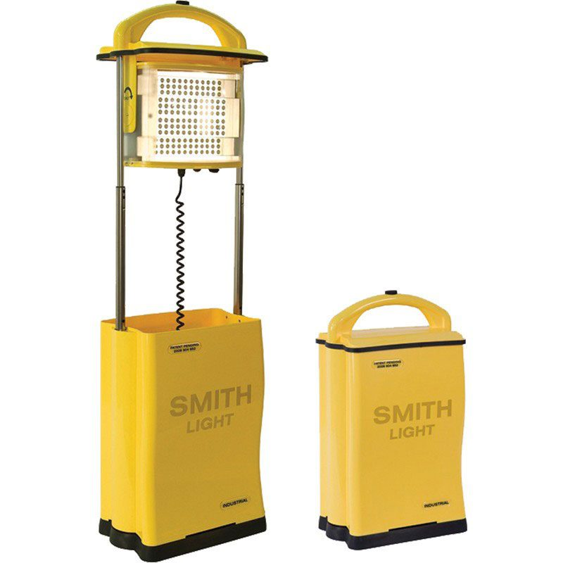 Two yellow Smith lights